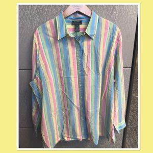 Lauren RL Striped Buttondown Shirt